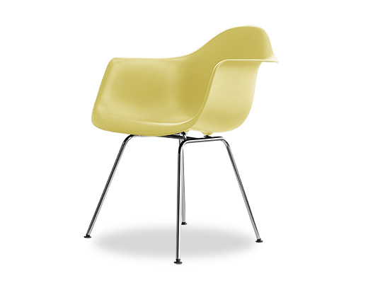 Eames Side Shell Chair / イームズ・プラスティックシェルチェア・DAX(ペイルイエロー)