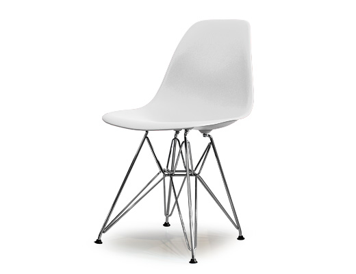 Eames Side Shell Chair / イームズ・プラスティックシェルチェア・DSR(ホワイト)