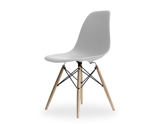 Eames Side Shell Chair / イームズ・プラスティックシェルチェア・DSW(アルパイン)