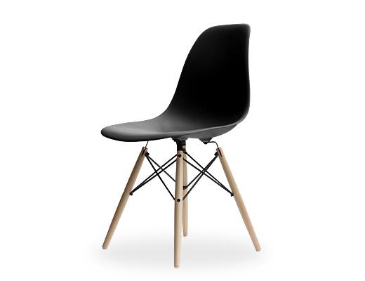 Eames Side Shell Chair / �����ॺ���ץ饹�ƥ��å��������������DSW�ʥ֥�å���