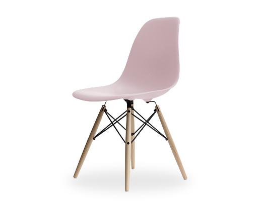 Eames Side Shell Chair / イームズ・プラスティックシェルチェア・DSW(ブラッシュ)