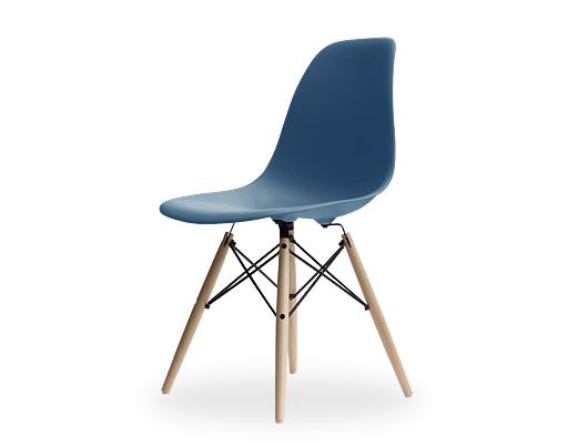 Eames Side Shell Chair / イームズ・プラスティックシェルチェア・DSW(ピーコックブルー)