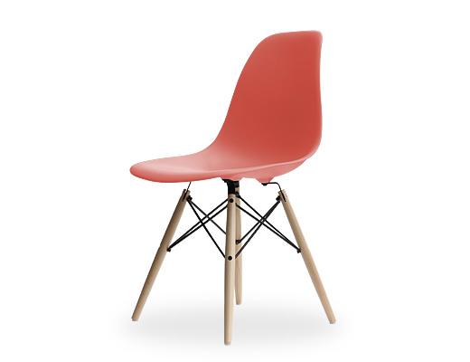 Eames Side Shell Chair / イームズ・プラスティックシェルチェア・DSW(レッド)