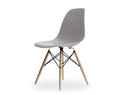 Eames Side Shell Chair / イームズ・プラスティックシェルチェア・DSW(ストーン)