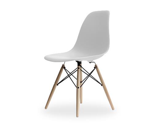 Eames Side Shell Chair / イームズ・プラスティックシェルチェア・DSW(ホワイト)