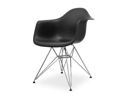 Eames Arm Shell Chair / イームズ・プラスティックシェルチェア・DAR(ブラック)