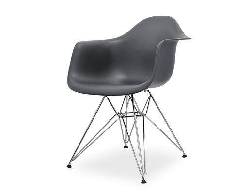 Eames Arm Shell Chair / イームズ・プラスティックシェルチェア・DAR(チャコール)