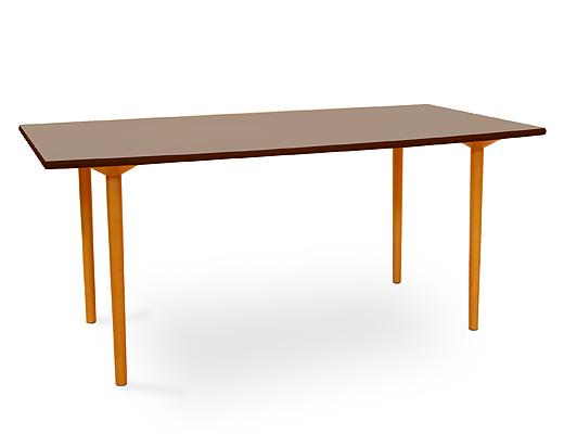 マッシュルームベーステーブル・レクタングル(ブラウン)