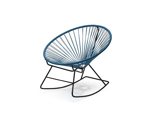 Acapulco Chair / アカプルコ・ロッキングチェア(ペトロブルー)