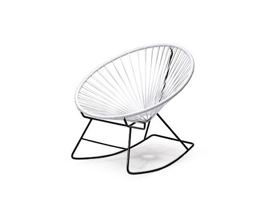 Acapulco Chair / アカプルコ・ロッキングチェア(ホワイト)