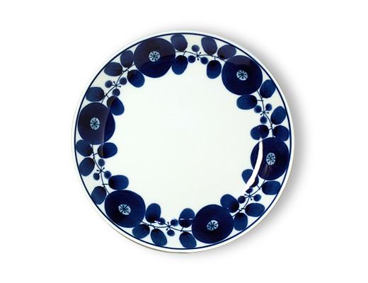 白山陶器 ブルーム プレート(リース)Mサイズ