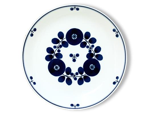 白山陶器 ブルーム プレート(ブーケ)Lサイズ