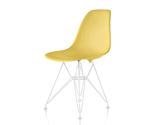 Eames Side Shell Chair / イームズ・プラスティックシェルチェア・DSR(ペイルイエロー)